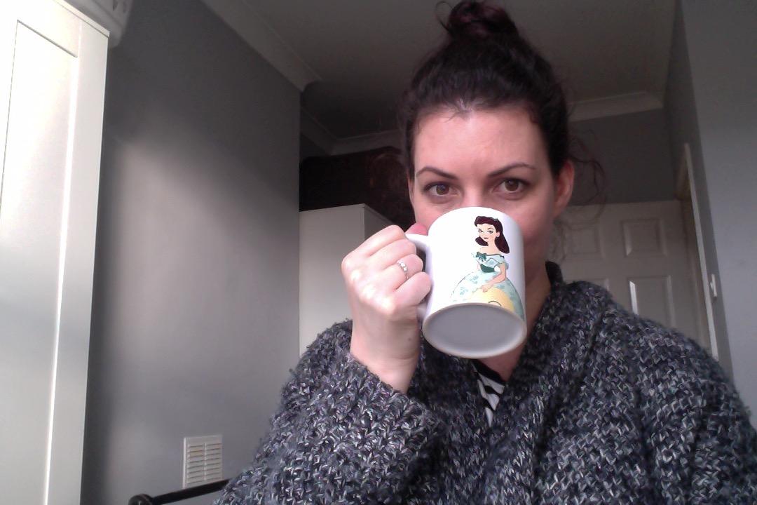 scarlett o'hara mug