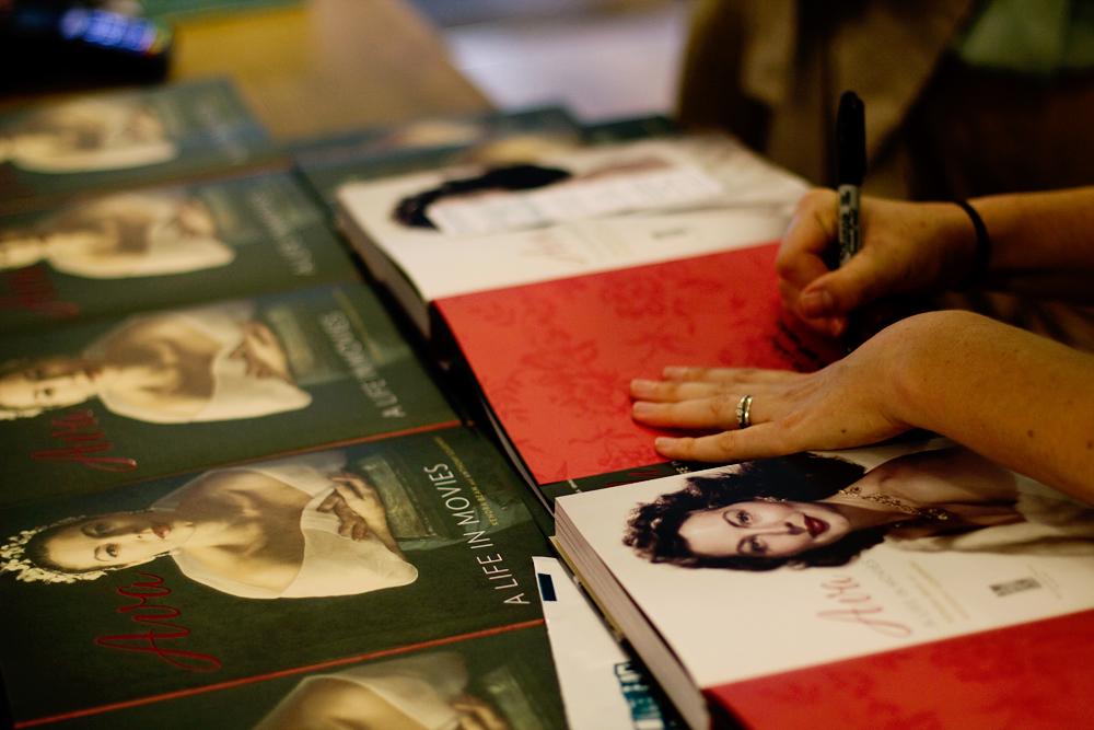 Ava Gardner Book Launch, July 2017